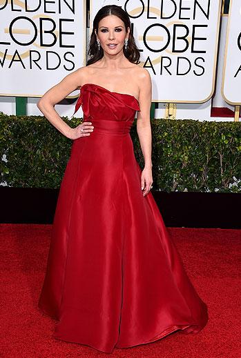 Golden Globes 2015 Ellas, Catherine Zeta-Jones