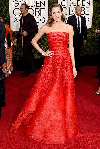 Golden Globes 2015 Ellas, Allison Williams