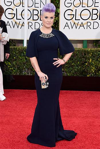 Golden Globes 2015 Ellas, Kelly Osbourne
