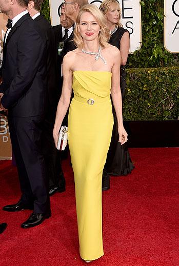 Golden Globes 2015 Ellas, Naomi Watts