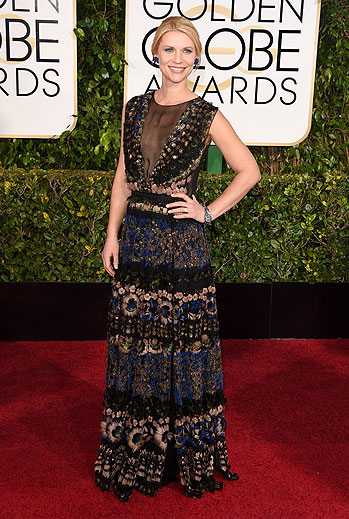 Golden Globes 2015 Ellas, Claire Danes