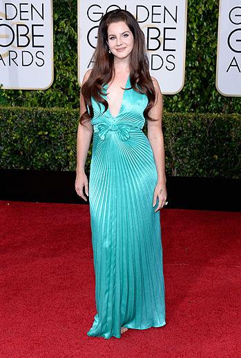 Golden Globes 2015 Ellas, Lana Del Rey