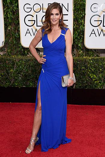 Golden Globes 2015 Ellas, Cindy Crawford