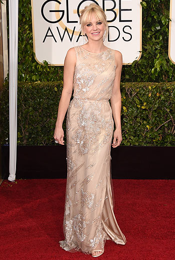 Golden Globes 2015 Ellas, Anna Faris