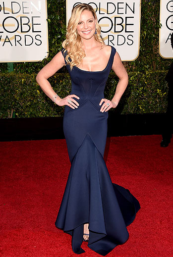 Golden Globes 2015 Ellas, Katherine Heigl