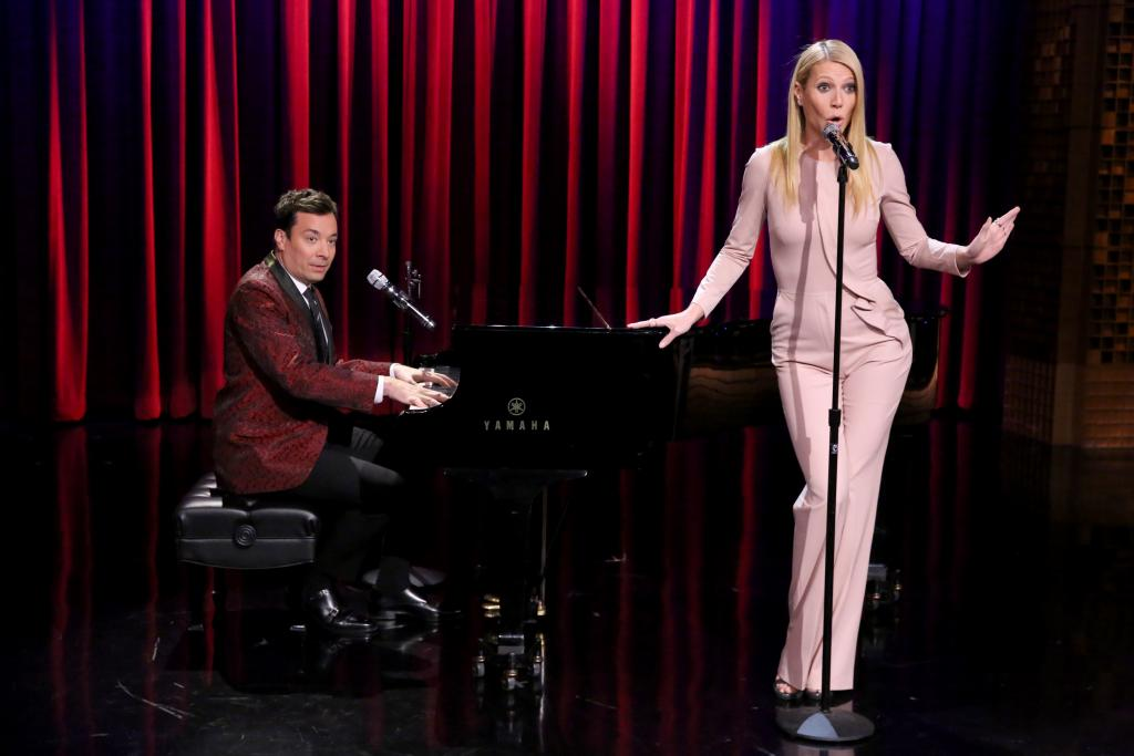 Gwyneth Paltrow y Jimmy Fallon