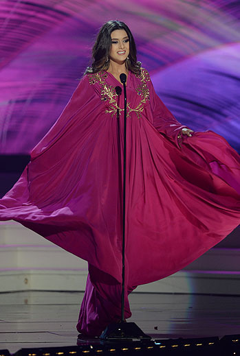 Saly Greige, Miss Universo 2015,