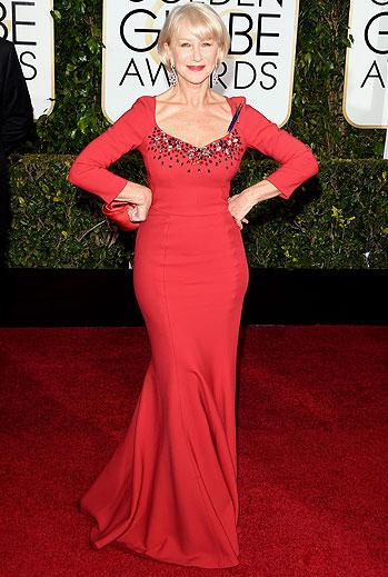 Golden Globes 2015 Ellas, Helen Mirren