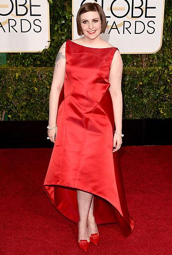 Golden Globes 2015 Ellas, Lena Dunham