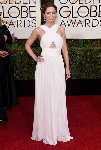 Golden Globes 2015 Ellas, Emily Blunt