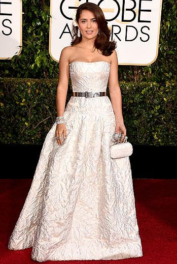 Golden Globes 2015 Ellas, Salma Hayek Pinault
