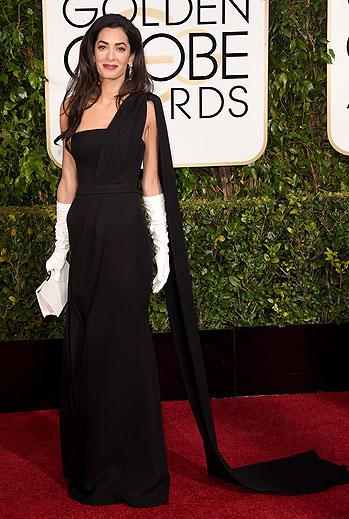 Golden Globes 2015 Ellas, Amal Alamuddin