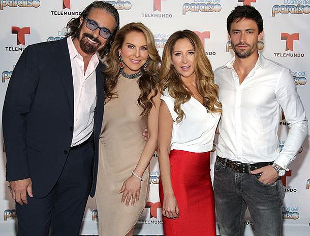 Miguel Varoni, Kate del Castillo, Geraldine Bazán, Tiago Correa, Míralos