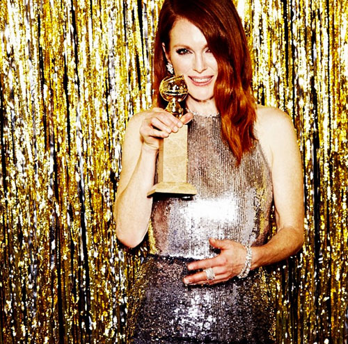 Julianne Moore, Globos de Oro 2015
