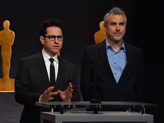 J.J. Abrams y Alfonso Cuarón
