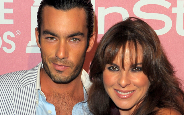 Aaron Diaz y Kate Del Castillo