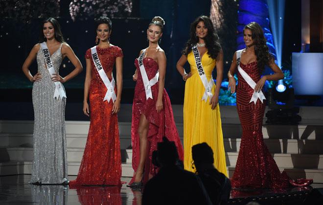 Las 5 finalistas