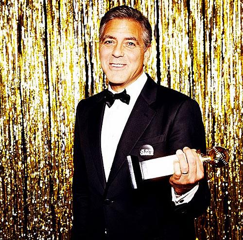 George Clooney, Globos de Oro 2015