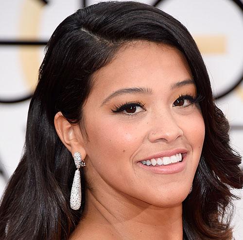 copia el look, maquillaje, Gina Rodríguez, premios Globos de Oro 2015