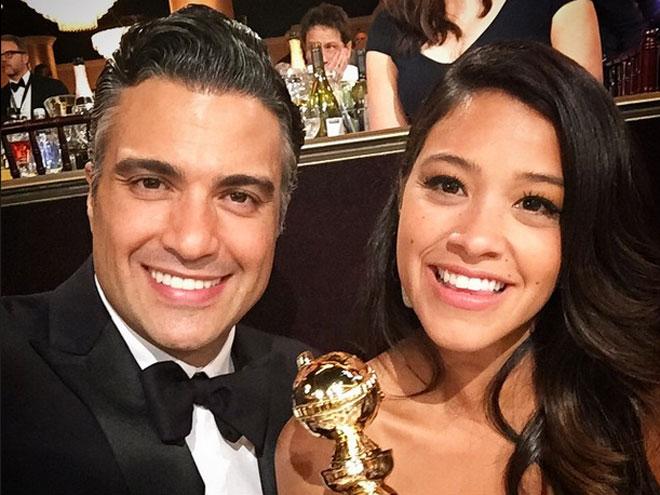 Jaime Camil y Gina Rodríguez