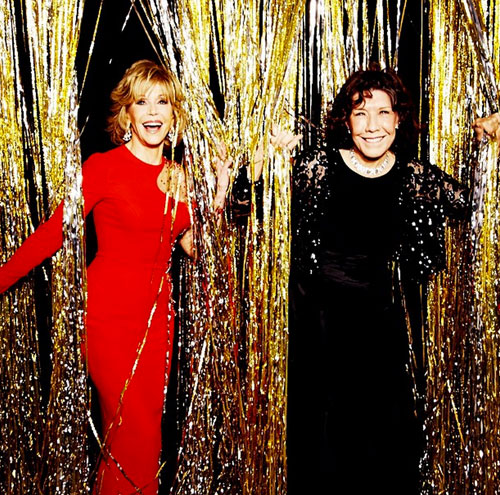 Jane Fonda, Lily Tomlin, Globos de Oro 2015