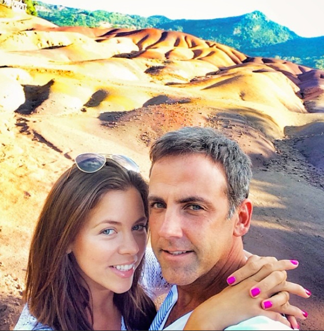 Ximena Duque and Carlos Ponce