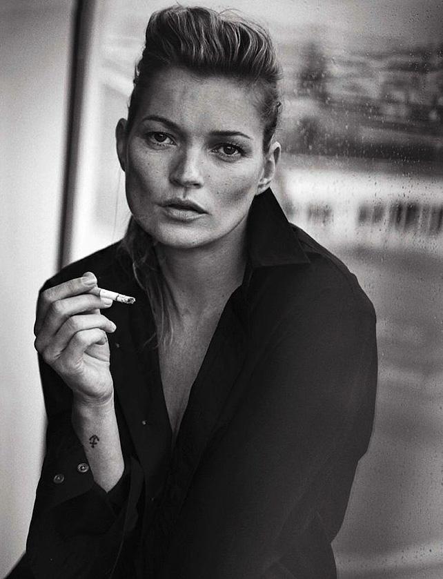 Kate Moss, photoshop