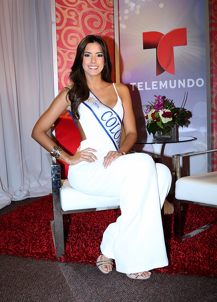 Miss Colombia, Paulina Vega,