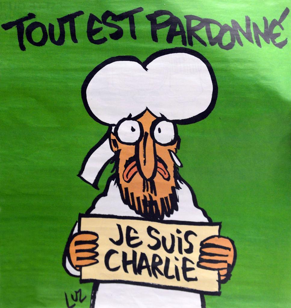 Charlie Hebdo, portadas