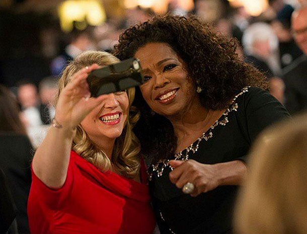 Oprah Winfrey, Cheryl Strayed, Globos de Oro 2015