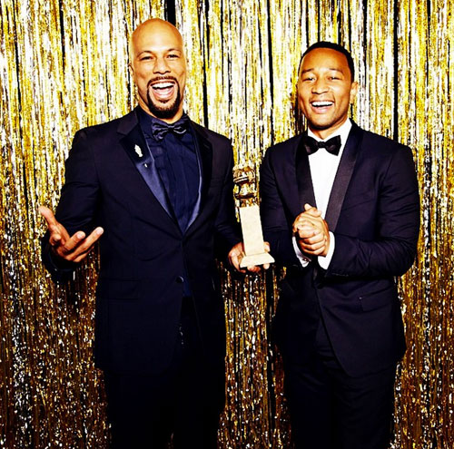 Common, John Legend, Globo de Oro 2015