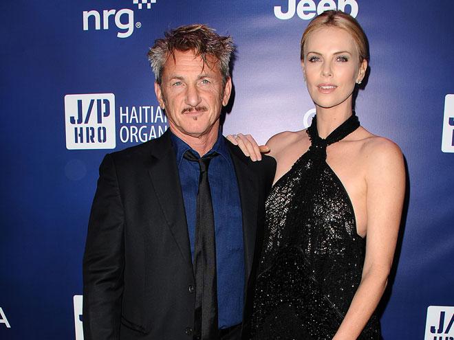 Sean Penn y Charlize Theron