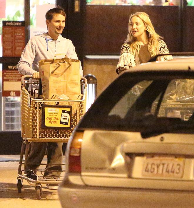 Kate Hudson, Matt Bellamy, Míralos