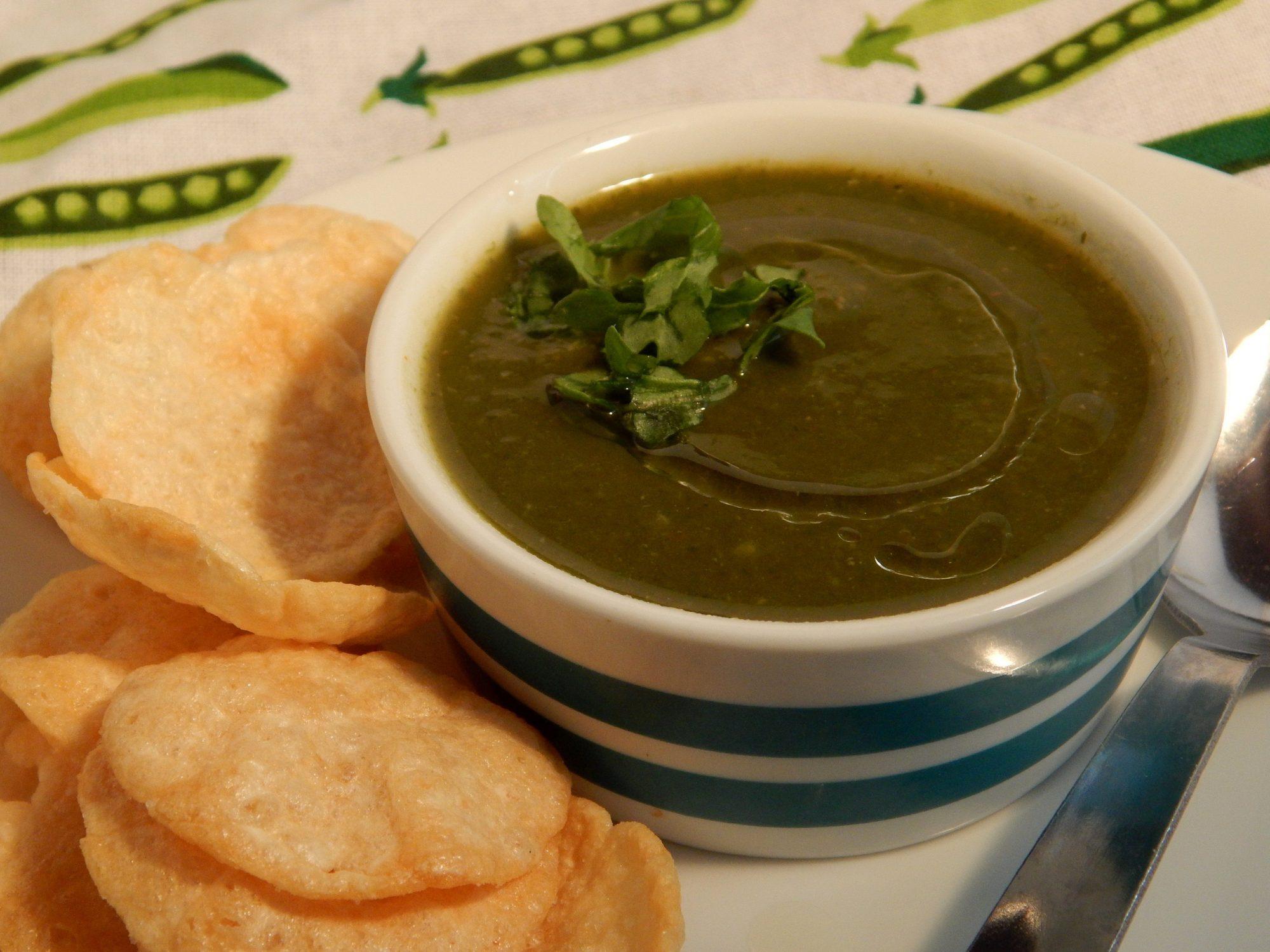Sopa de verduras a la francesa