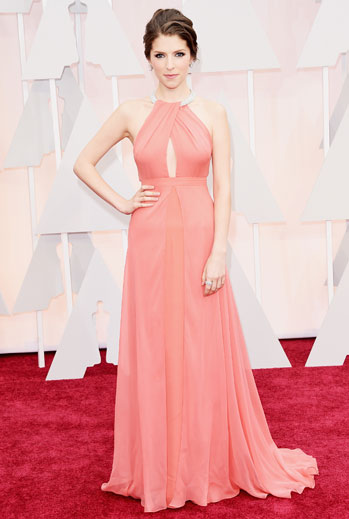 Premios Oscar 2015, alfombra roja, Anna Kendrick