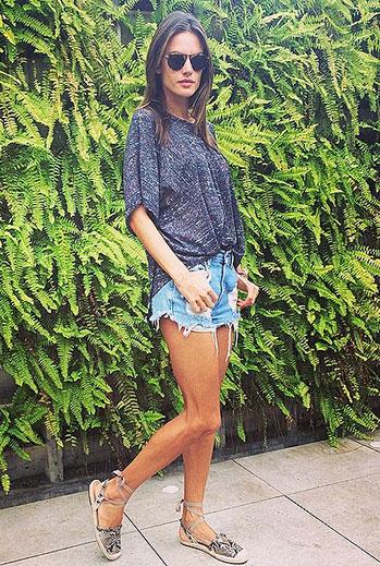 El look del día, Alessandra Ambrosio