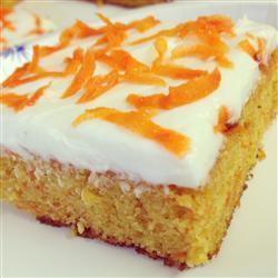 Pastel de zanahoria y piña
