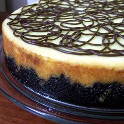 Cheesecake con galleta de chispas de chocolate