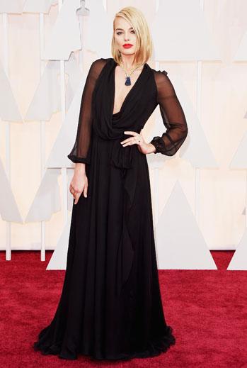 Premios Oscar 2015, alfombra roja, Margot Robbie