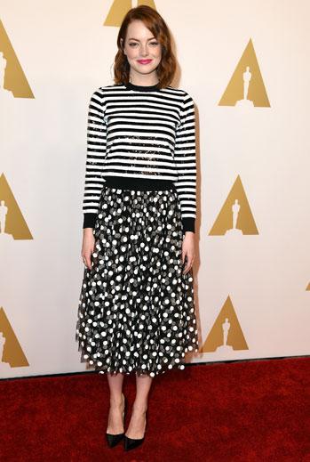 El look del día, Emma Stone