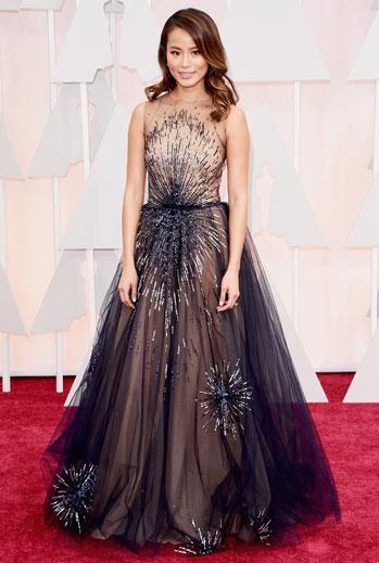 Premios Oscar 2015, alfombra roja, Jamie Chung