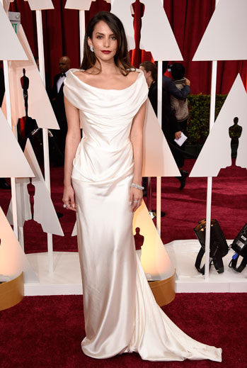 Premios Oscar 2015, alfombra roja, Genesis Rodriguez