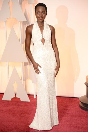 Premios Oscar 2015, alfombra roja, Lupita Nyong'o