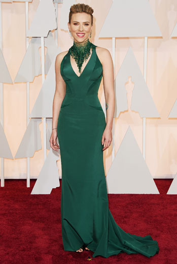 Premios Oscar 2015, alfombra roja, Scarlett Johansson
