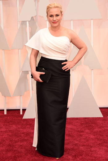 Premios Oscar 2015, alfombra roja, Patricia Arquette
