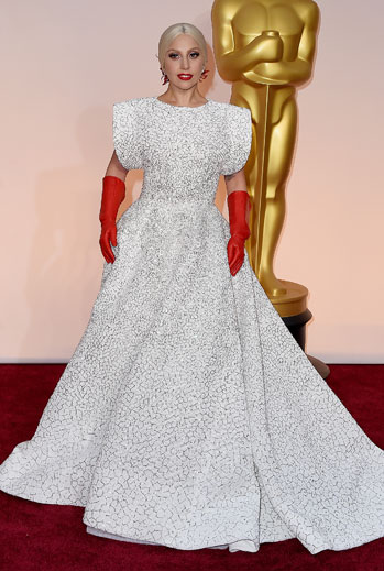 Premios Oscar 2015, alfombra roja, Lady Gaga
