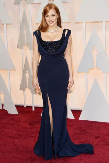 Premios Oscar 2015, alfombra roja, Jessica Chastain