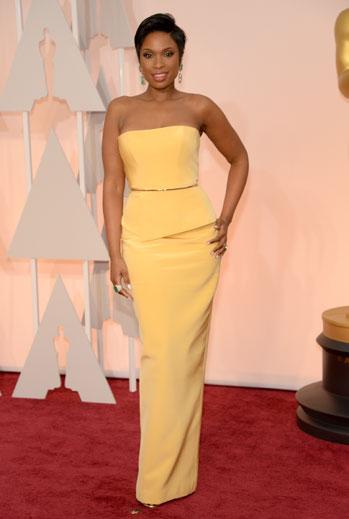Premios Oscar 2015, alfombra roja, Jennifer Hudson