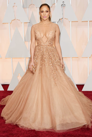 Premios Oscar 2015, alfombra roja, Jennifer Lopez