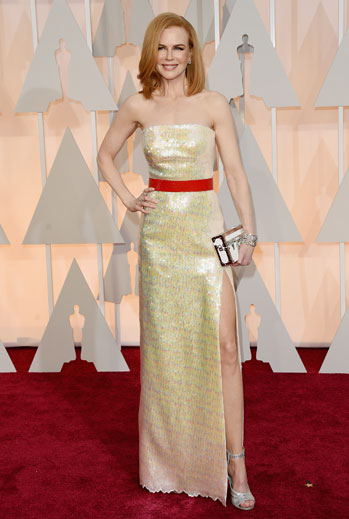 Premios Oscar 2015, alfombra roja, Nicole Kidman